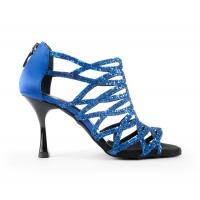 Portdance PD803 Blauw dames dansschoenen tango