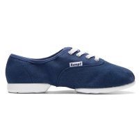 Rumpf Bee Jazz RU1515 Navy Danssneaker van Canvas