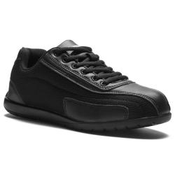 Rumpf Trainer RU1530 Zwarte Dansschoen met Doorlopende Zool