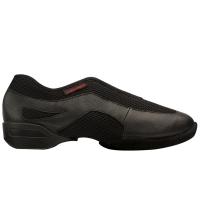 Supadance 8010 Zwarte Trainingssneaker met Suede Splitzool