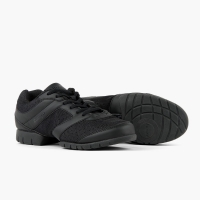 zwarte sneakers voor dansen rumpf